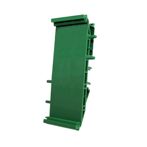 DIN-skinne holder 35x28x118 mm. (Holder fast relekort)