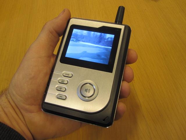 Holars Trådløs Dørtelefon med kamera og lyd - Holars AS